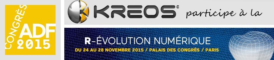 Congrès ADF 2015 KREOS